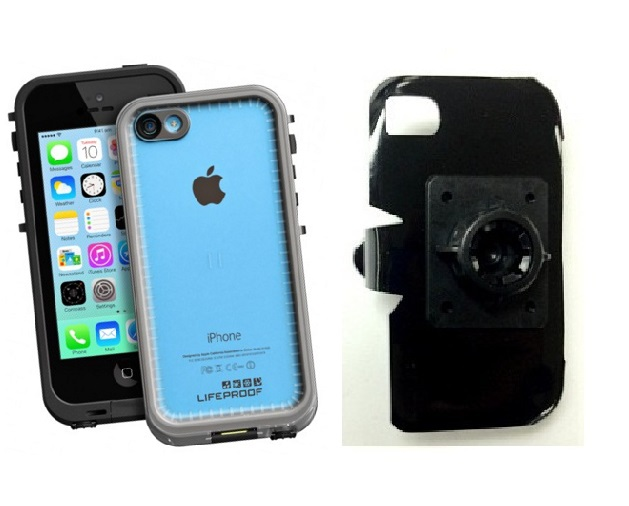 SlipGrip 17MM Holder For Apple iPhone 5C Using LifeProof FRE Case