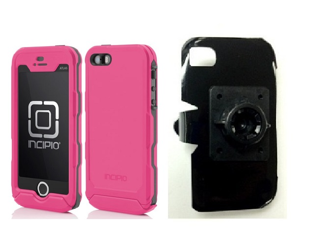 SlipGrip 17MM Holder For Apple iPhone 5 & 5S Using Incipio ATLAS ID Waterproof Rugged Case