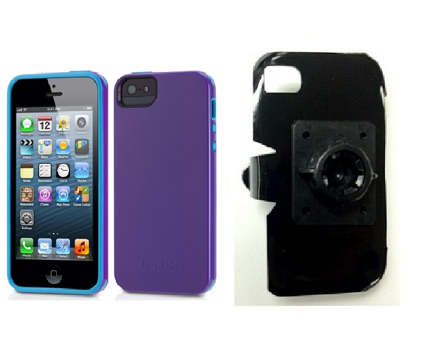 SlipGrip 17MM Holder For Apple iPhone 5 & 5S Using Tech21 Impact Trio Case