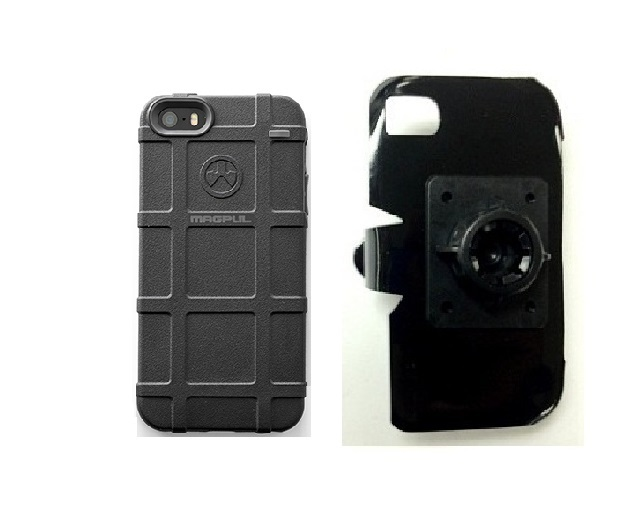 SlipGrip 17MM Holder For Apple iPhone 5 & 5S Using Magpul Bump Case
