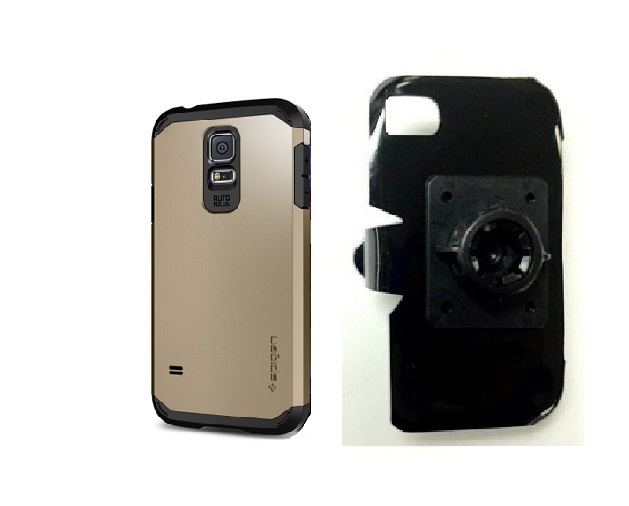 SlipGrip 17MM Holder For Samsung Galaxy S5 i9600 Using Spigen Tough Armor Case