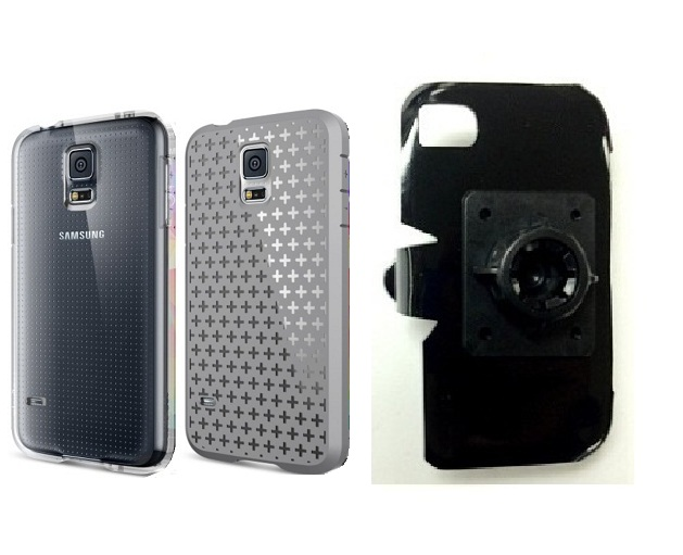 SlipGrip 17MM Holder For Samsung Galaxy S5 i9600 Using Spigen Ultra Fit Capsule Case