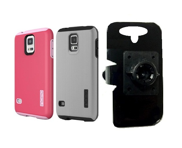 SlipGrip 17MM Holder For Samsung Galaxy S5 i9600 Using Incipio Using DualPro Shine Case