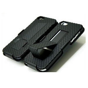 Using Black Shell KickStand Cover Case