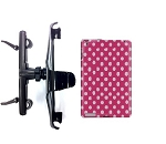 SlipGrip HeadRest Holder For Apple iPad 2 & 3 & 4 GEN Using Hard Rubber TPU Gel Case
