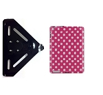 SlipGrip RAM-HOL Holder For Apple iPad 2 & 3 & 4 GEN Using Hard Rubber TPU Gel Case