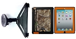SlipGrip Car Mount For Apple iPAD 2 & 3 & 4 Gen Using OtterBox Defender Realtree Camo Case