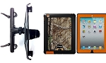 SlipGrip Headrest Mount For Apple iPAD 2 & 3 & 4 Gen Using OtterBox Defender Realtree Camo Case