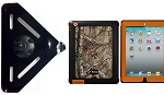 SlipGrip RAM Mount For Apple iPAD 2 & 3 & 4 Gen Using OtterBox Defender Realtree Camo Case