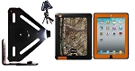 SlipGrip Tripod Mount For Apple iPad 2 & 3 & 4 GEN Using OtterBox Defender Realtree Camo Case