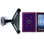 SlipGrip Car Mount For Apple iPAD 2 & 3 & 4 Gen Using OtterBox Relfex Series Case