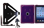SlipGrip Tripod Mount For Apple iPad 2 & 3 & 4 GEN Using OtterBox Reflex Series Case