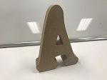 CNC Custom Cut A-Z Alphabet Numbers And Letters High-Density Premium MDF Wood