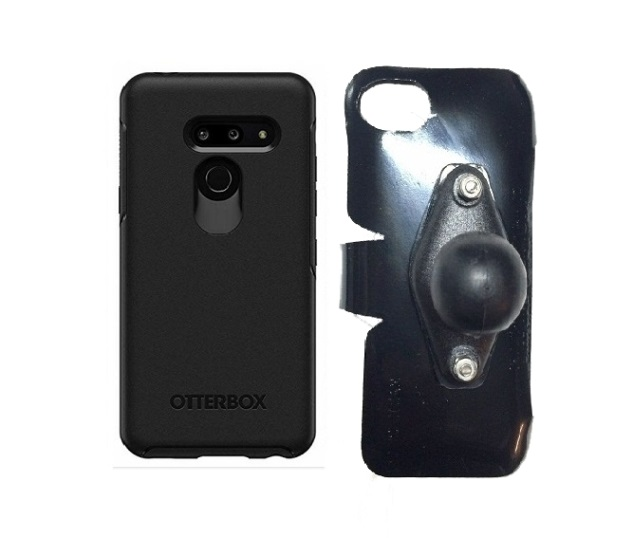 SlipGrip RAM Holder For LG G8 ThinQ Using Otterbox Symmetry Case
