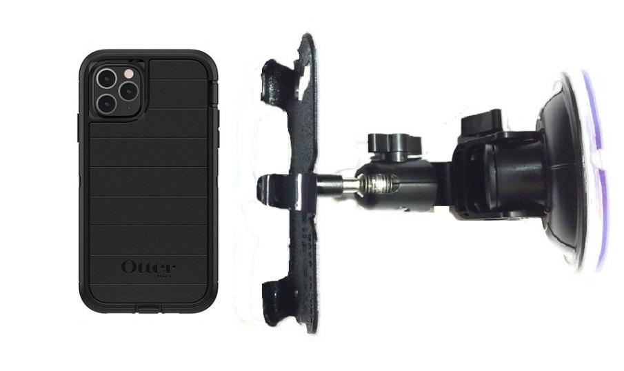 SlipGrip RAM Holder for Apple iPhone 11 Pro Max Using Otterbox Defender Pro Case