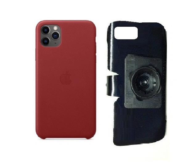 SlipGrip 22mm Ball Holder For Apple iPhone 11 Pro Max Using Apple Leather Case