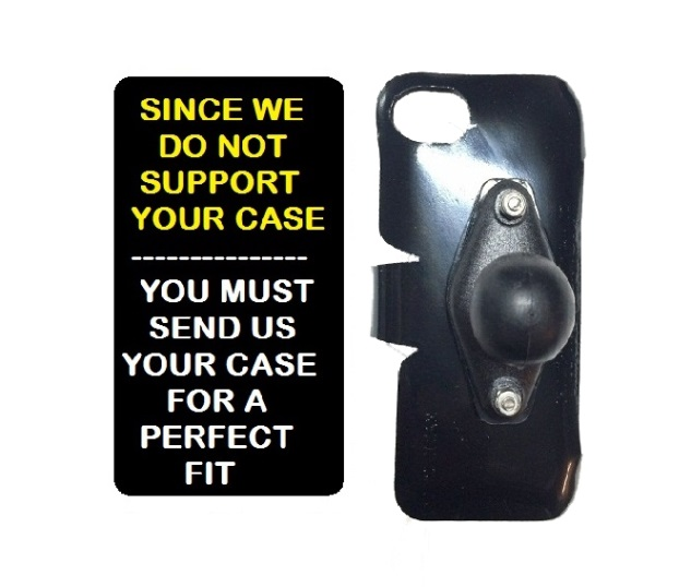 SlipGrip RAM Holder For Phone Customer's Phone Using Customer Must Send In Your Case  Case