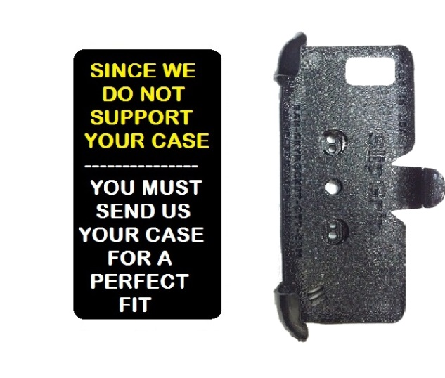 SlipGrip PRO Mounts Holder For Phone Customer's Phone Using Customer Must Send In Your Case  Case