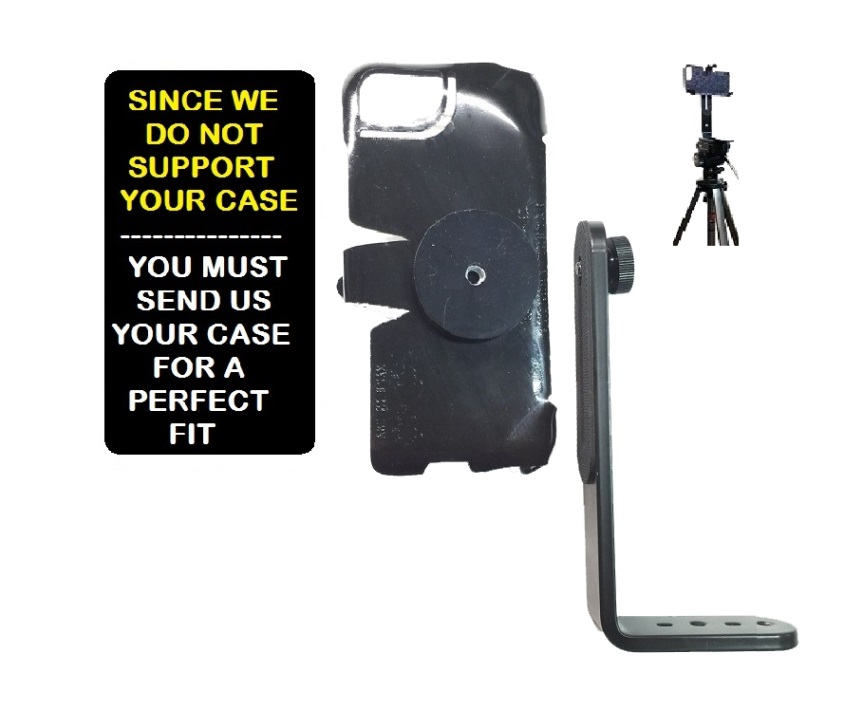 SlipGrip Tripod Mount For Phone Customer's Phone Using Customer Must Send In Your Case  Case