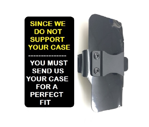 SlipGrip Belt Clip Only For Phone Customer's Phone Using Customer Must Send In Your Case  Case
