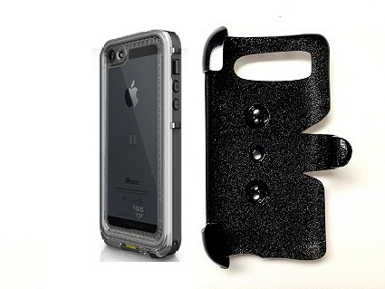 SlipGrip PRO Mounts Holder For Apple iPhone 5 5S Using LifeProof Nuud Case