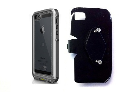 SlipGrip RAM-HOL Holder For Apple iPhone 5 5S Using LifeProof Nuud Case