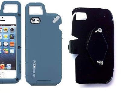 SlipGrip RAM-HOL Holder For Apple iPhone 5 & 5S LTE eration Using PureGear PX360 Protector Case