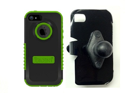 SlipGrip RAM Holder For Apple iPhone 5 & 5S Using Trident Cyclops Case