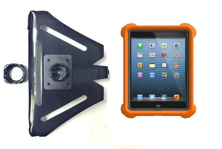 SlipGrip 22MM Holder For Apple iPad Mini Tablet Using Lifeproof LifeJacket Case