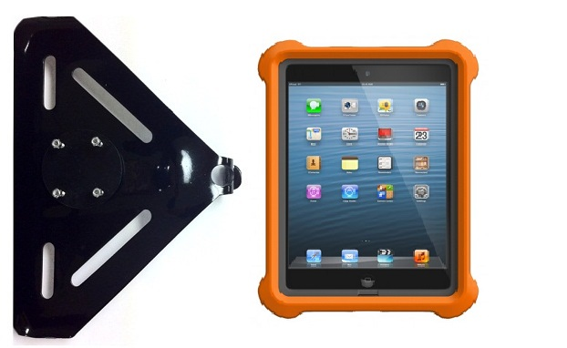 SlipGrip RAM-HOL Holder For Apple iPad Mini Tablet Using Lifeproof LifeJacket Case