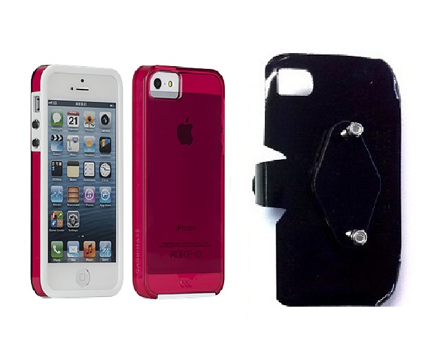 SlipGrip RAM-HOL Holder For Apple iPhone 5 & 5S Using Case-Mate Naked Tough Case