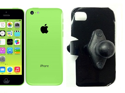 SlipGrip RAM Holder For Apple iPhone 5C Using No Case