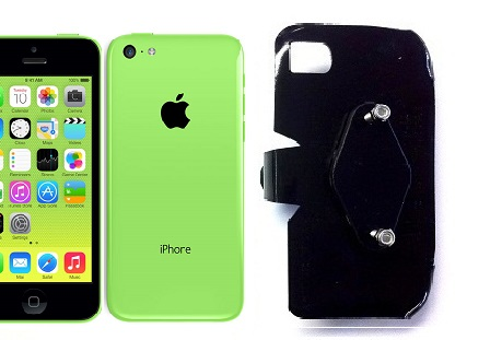 SlipGrip RAM-HOL Holder For Apple iPhone 5C Using No Case