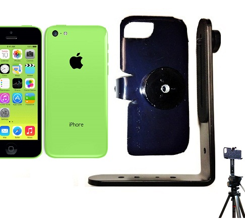 SlipGrip Tripod Mount For Apple iPhone 5C Using No Case
