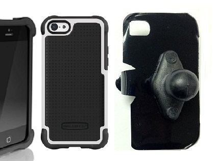 SlipGrip RAM Holder For Apple iPhone 5C Using Ballistic SG Case