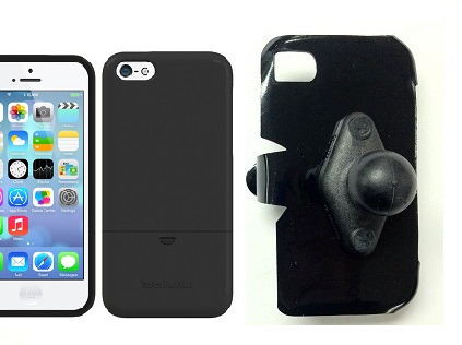 SlipGrip RAM Holder For Apple iPhone 5C Using Seidio Surface Case
