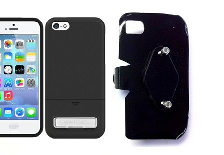 SlipGrip RAM-HOL Holder For Apple iPhone 5C Using Seidio Surface KickStand Case