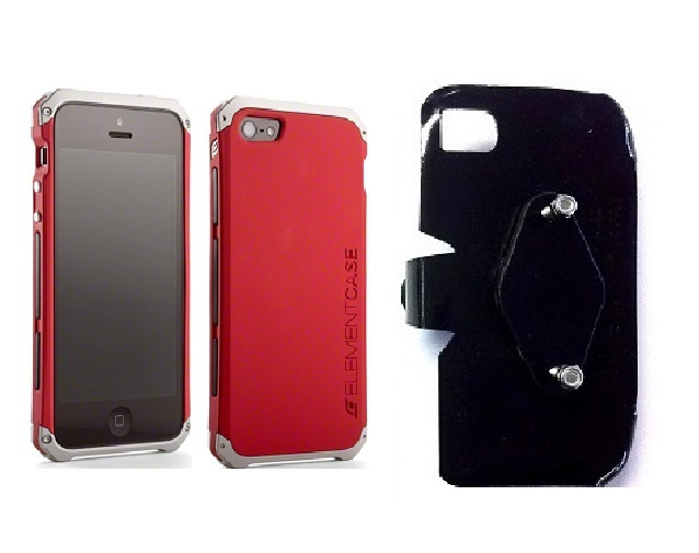 SlipGrip RAM-HOL Holder For Apple iPhone 5 & 5S Using Element Solace Case