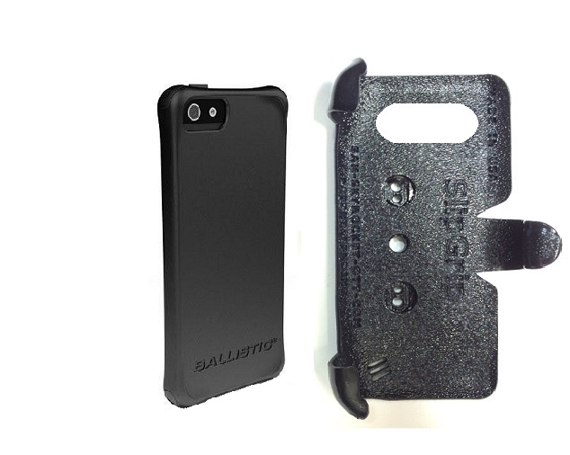 SlipGrip PRO Mounts Holder For Apple iPhone 5 & 5S Using Ballistic LS Smooth Series Case