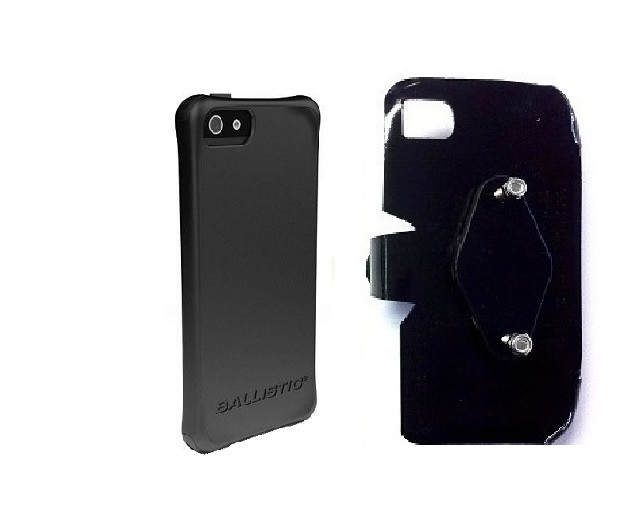 SlipGrip RAM-HOL Holder For Apple iPhone 5 & 5S Using Ballistic LS Smooth Series Case