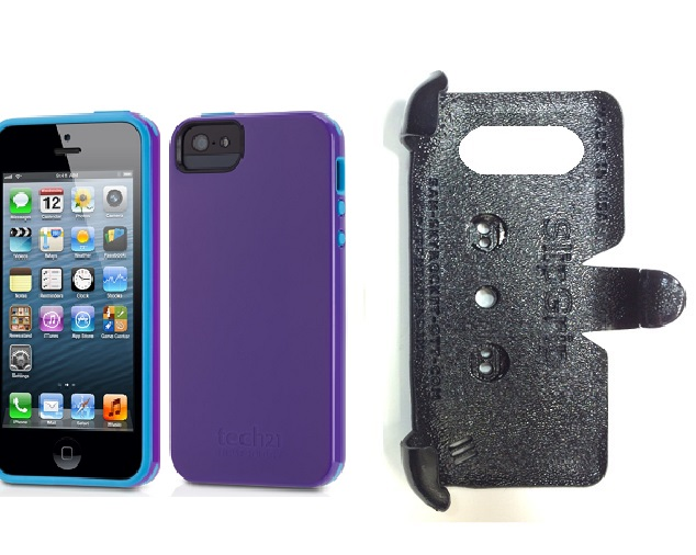 SlipGrip PRO Mounts Holder For Apple iPhone 5 & 5S Using Tech21 Impact Trio Case