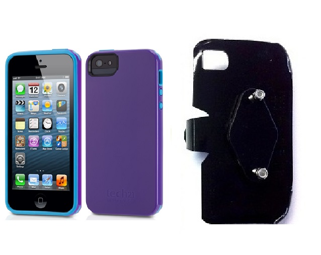 SlipGrip RAM-HOL Holder For Apple iPhone 5 & 5S Using Tech21 Impact Trio Case