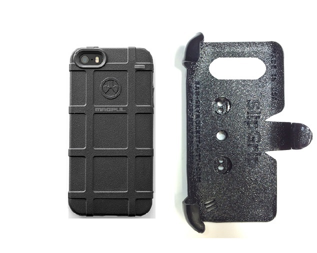 SlipGrip PRO Mounts Holder For Apple iPhone 5 & 5S Using Magpul Bump Case