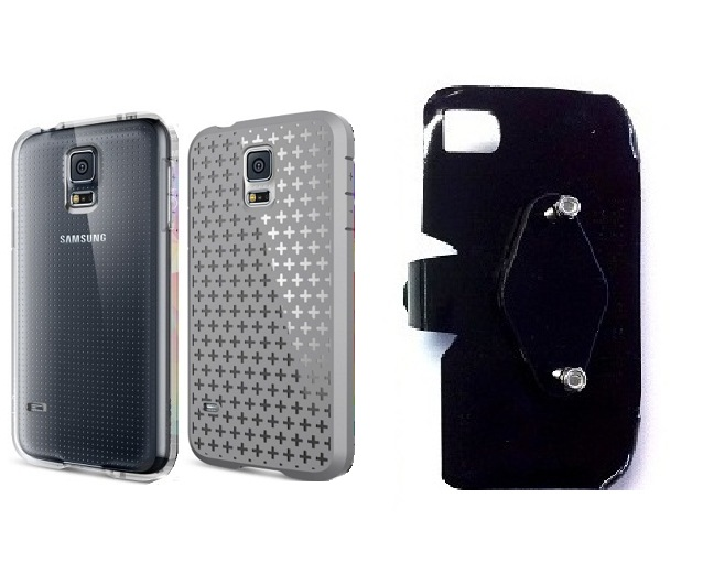SlipGrip RAM-HOL Holder For Samsung Galaxy S5 i9600 Using Spigen Ultra Fit Capsule Case