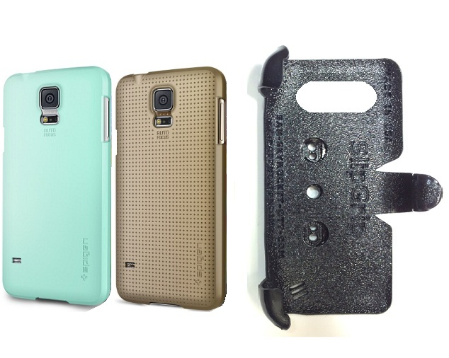 SlipGrip PRO Mounts Holder For Samsung Galaxy S5 i9600 Using Spigen Ultra Fit Case