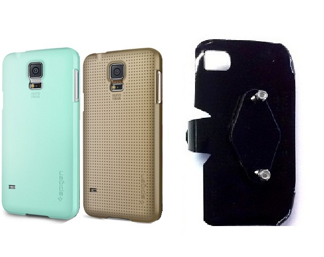 SlipGrip RAM-HOL Holder For Samsung Galaxy S5 i9600 Using Spigen Ultra Fit Case