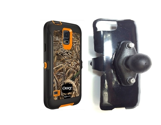 SlipGrip RAM Holder For Samsung Galaxy S5 i9600 Using Otterbox Defender RealTree Case