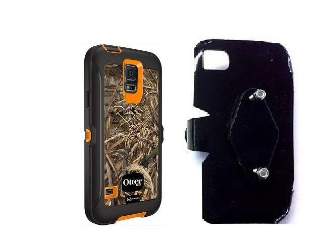 SlipGrip RAM-HOL Holder For Samsung Galaxy S5 i9600 Using Otterbox Defender RealTree Case
