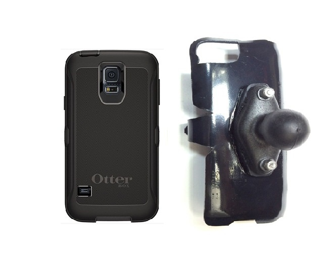 SlipGrip RAM Holder For Samsung Galaxy S5 i9600 Using Otterbox Defender Case