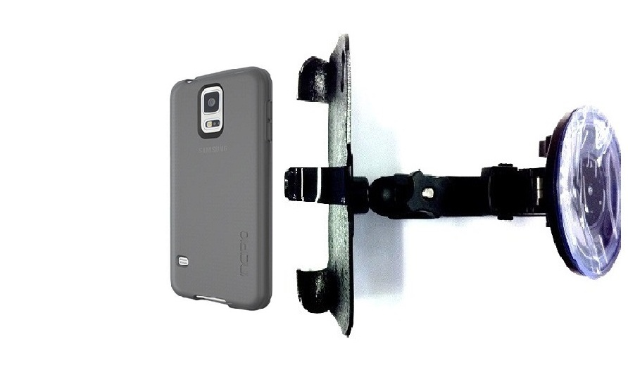SlipGrip Car Holder For Samsung Galaxy S5 i9600 Using Incipio Using NGP Series Case HV